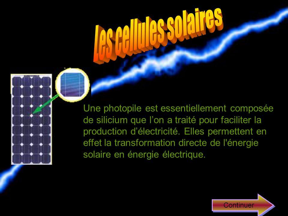 Les cellules solaires