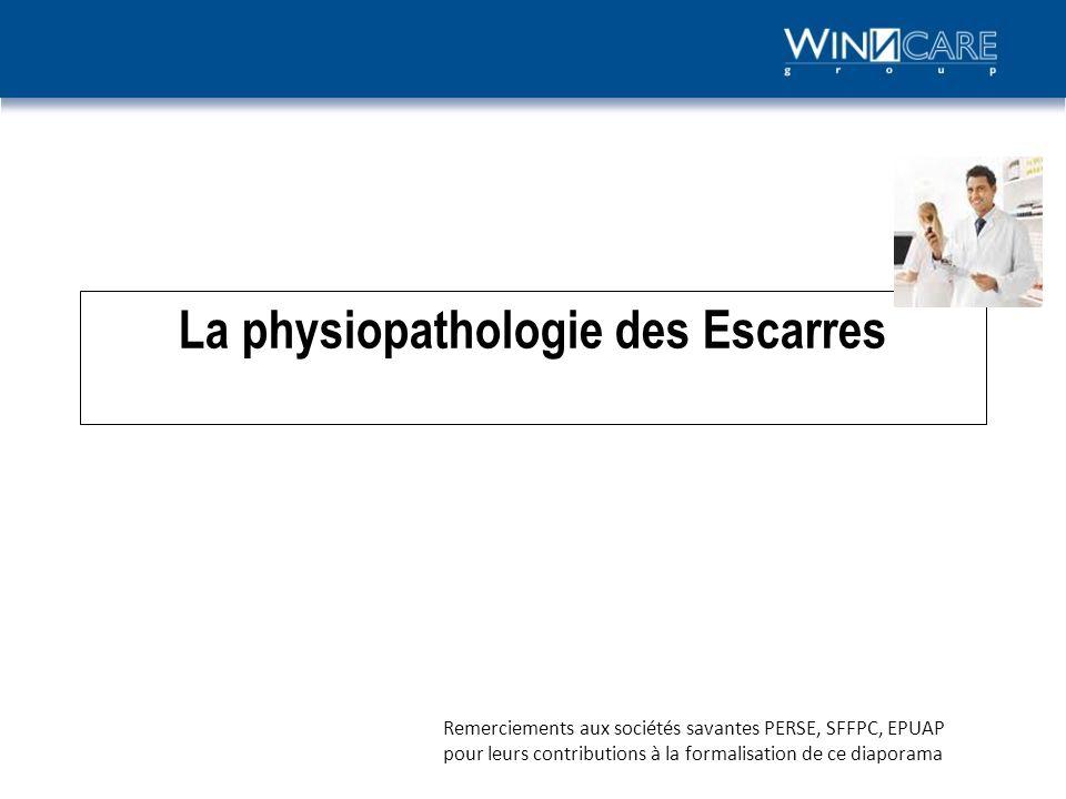 La physiopathologie des Escarres