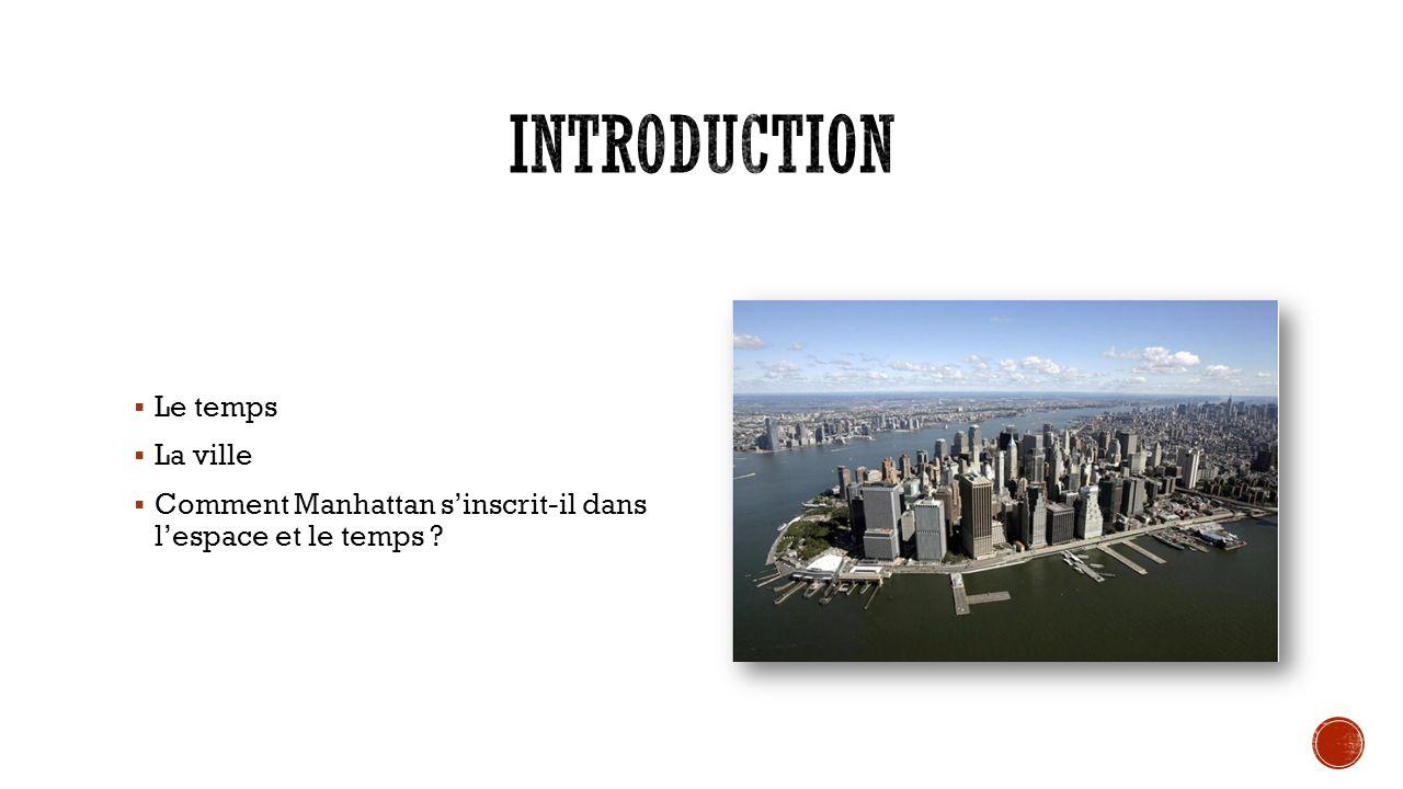 Introduction Le temps La ville