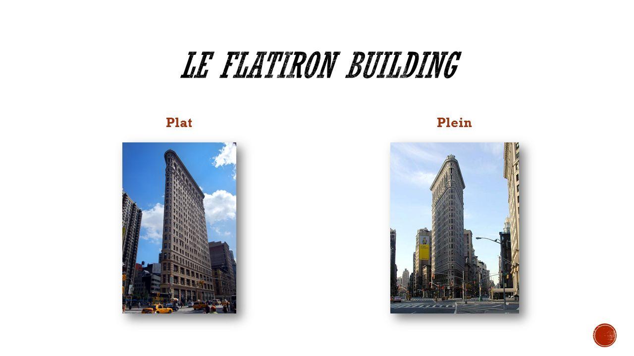 Le Flatiron Building Plat Plein Plat ou plein