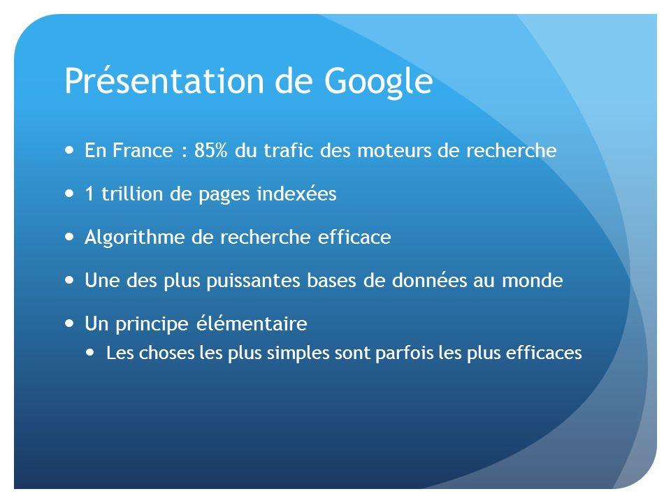 Présentation de Google
