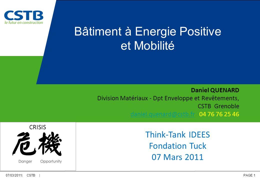 Bâtiment à Energie Positive