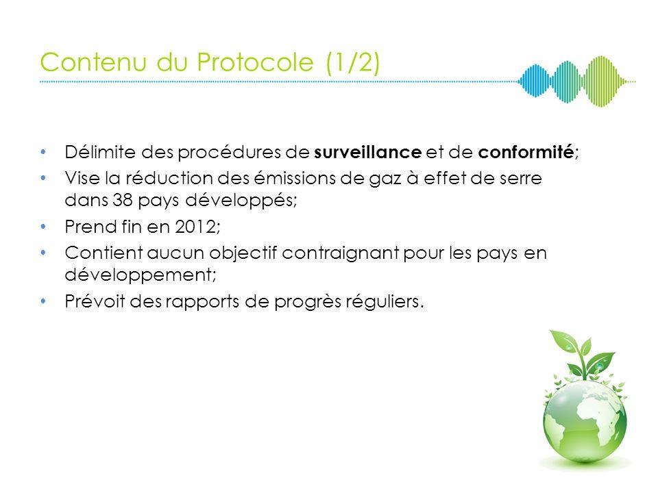 Contenu du Protocole (1/2)