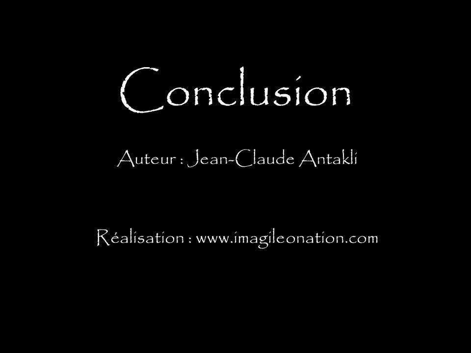Auteur : Jean-Claude Antakli Réalisation : www.imagileonation.com