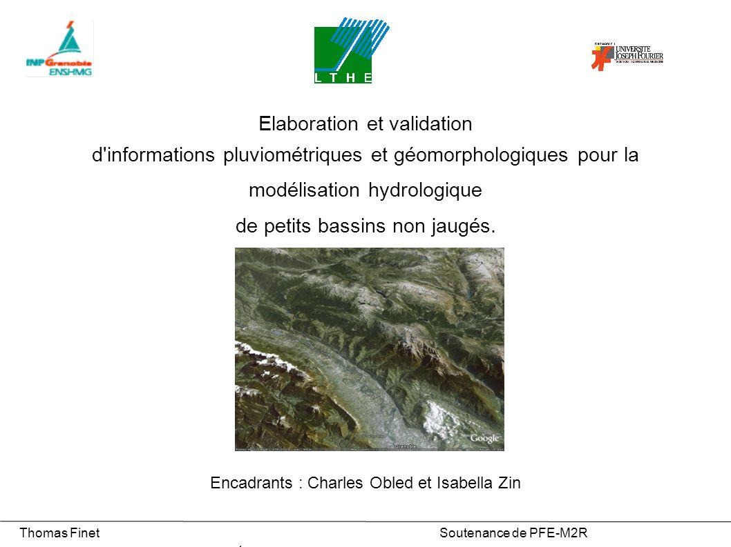 Elaboration et validation