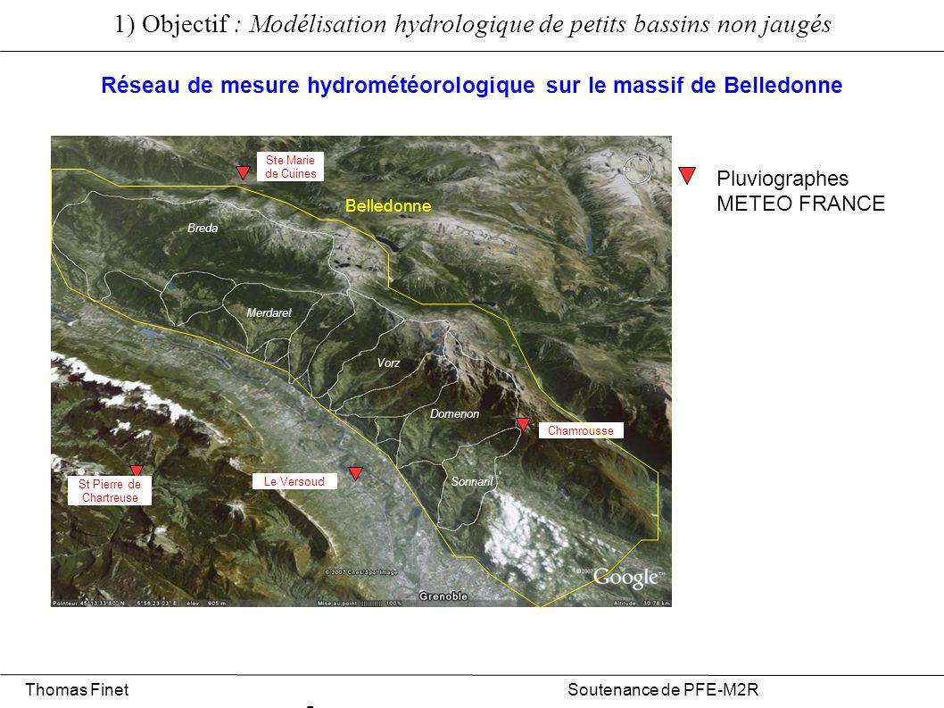 Réseau de mesure hydrométéorologique sur le massif de Belledonne