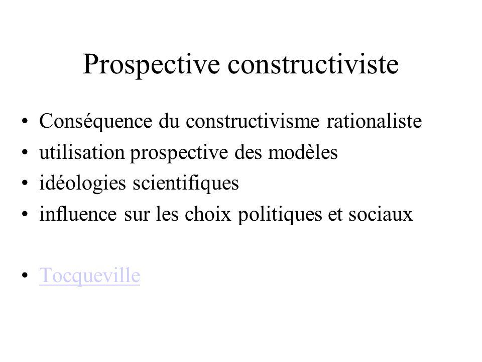 Prospective constructiviste