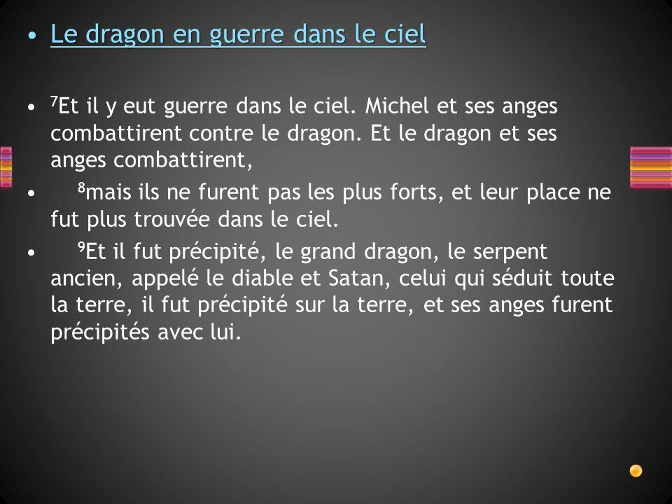 Le dragon en guerre dans le ciel