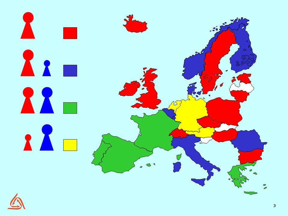 Red: Single channel worker representation by trade union organizations is practiced in Sweden, Estonia, Lithuania, Poland, Czech Republic, Hungary, Bulgaria, Switzerland, Ireland, the United Kingdom and Iceland.