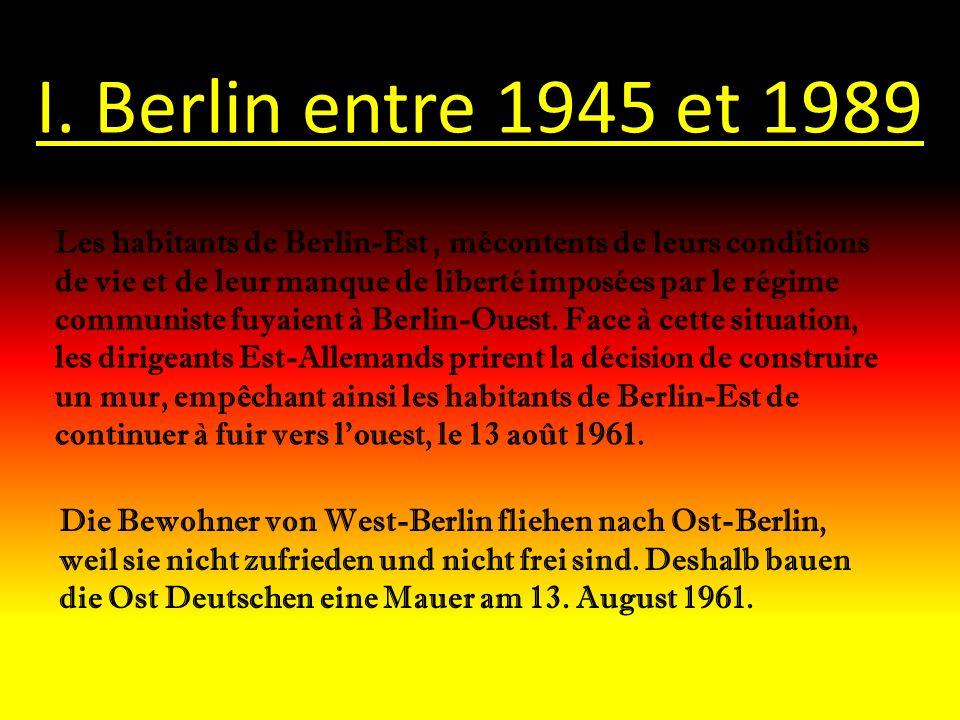 I. Berlin entre 1945 et 1989