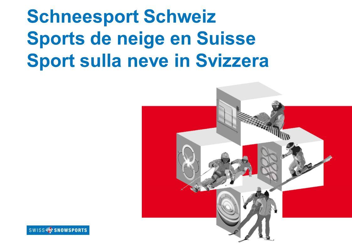 Schneesport Schweiz Sports de neige en Suisse Sport sulla neve in Svizzera