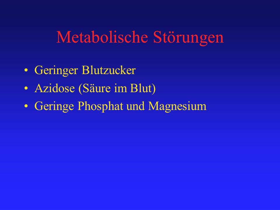 Metabolische Störungen