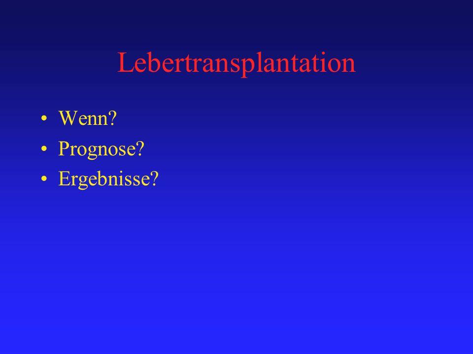 Lebertransplantation