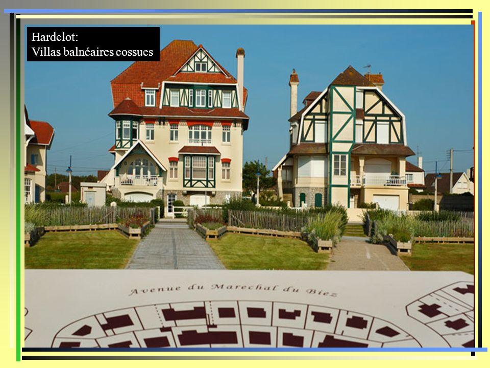 Hardelot: Villas balnéaires cossues