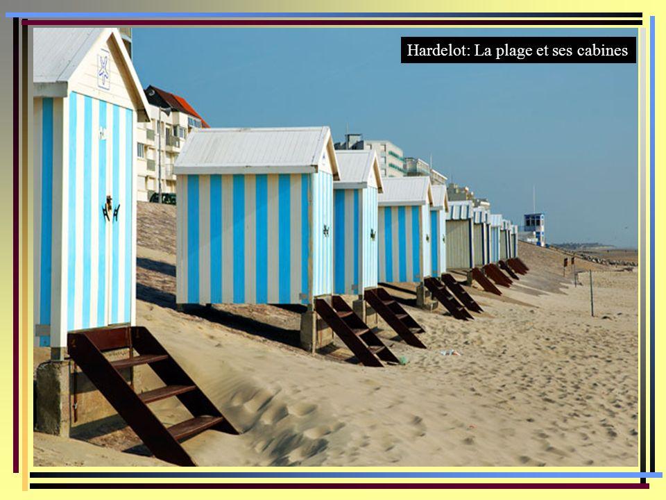 Hardelot: La plage et ses cabines
