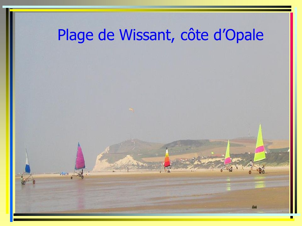 Plage de Wissant, côte d'Opale