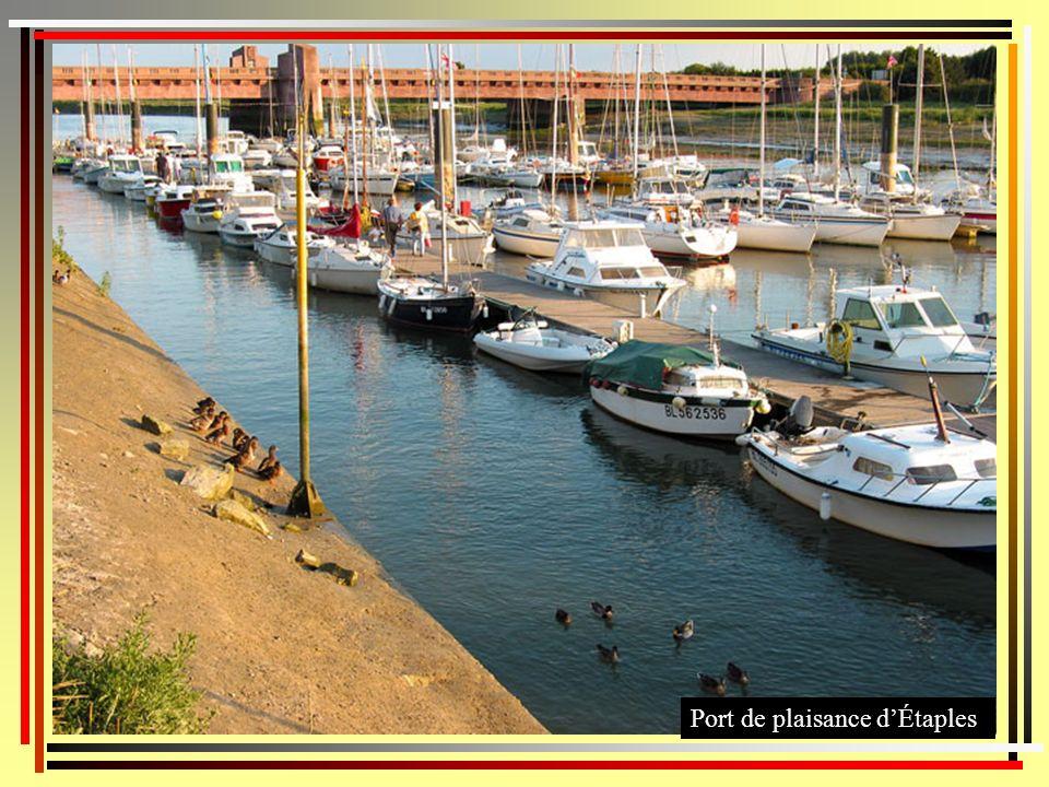 Port de plaisance d'Étaples