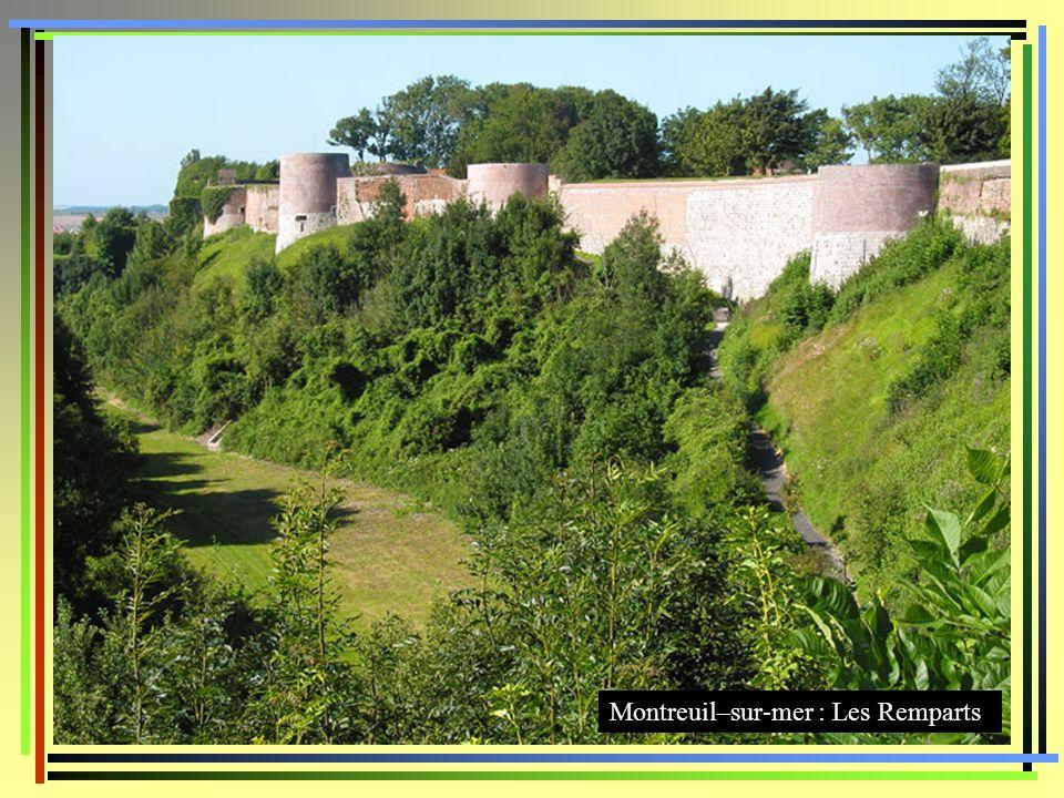 Montreuil–sur-mer : Les Remparts