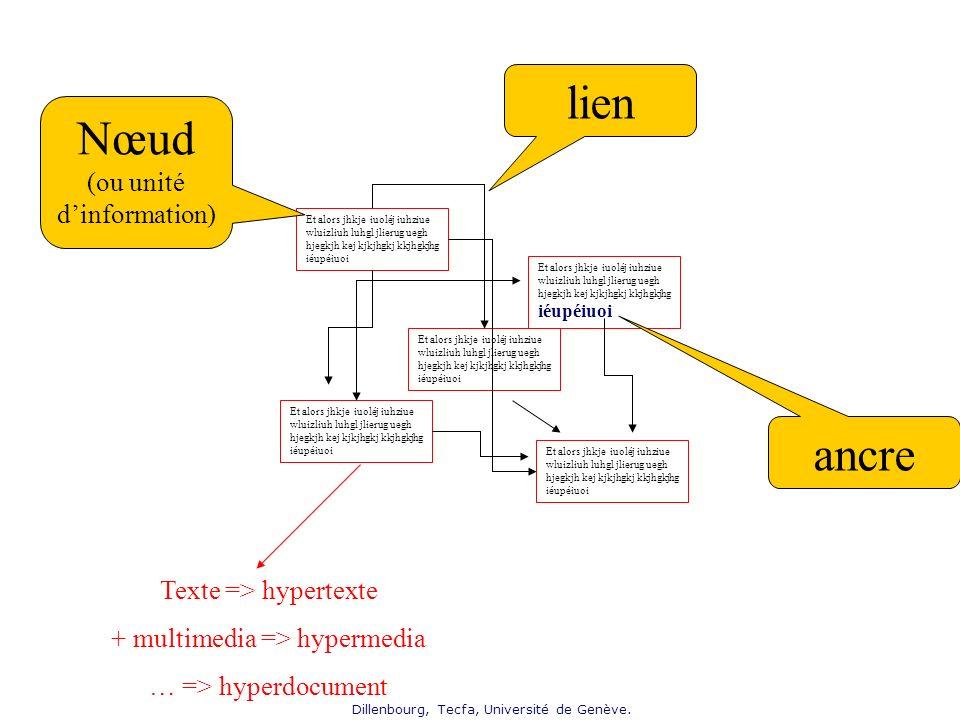 Nœud (ou unité d'information)