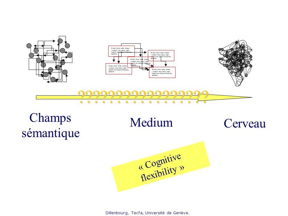 Champs sémantique Medium Cerveau