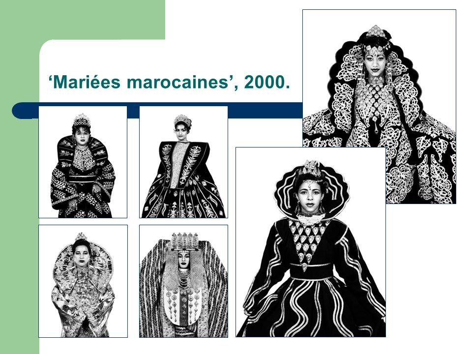 'Mariées marocaines', 2000.