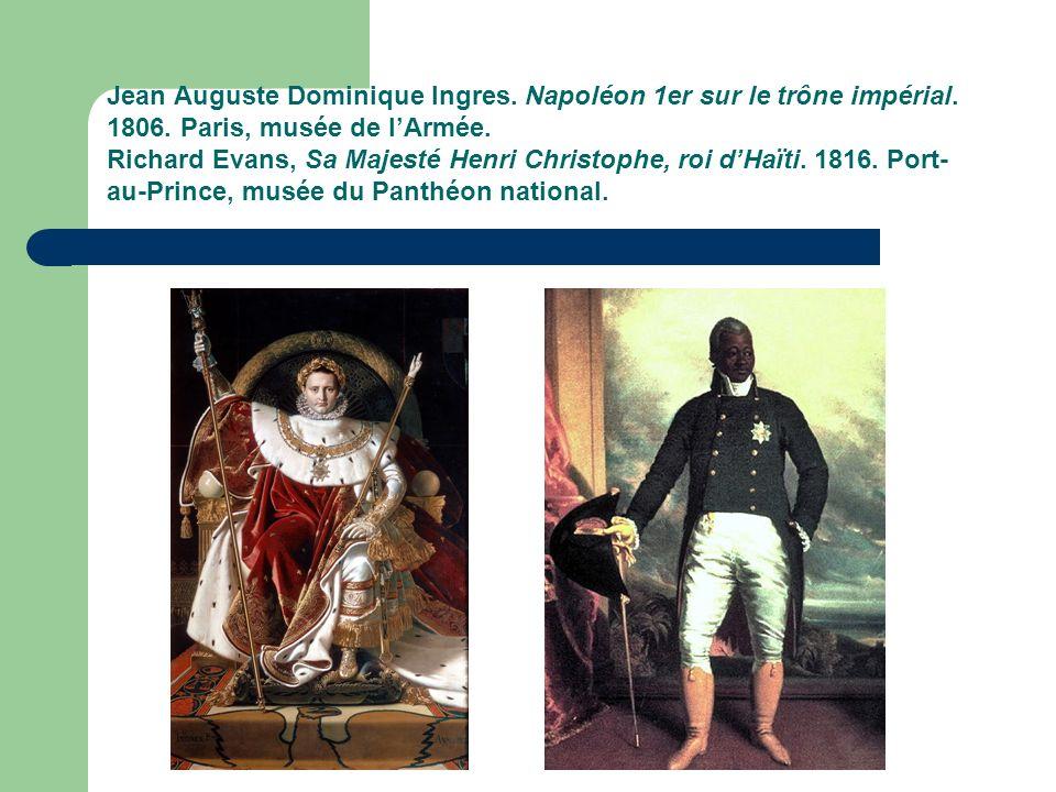 Jean Auguste Dominique Ingres. Napoléon 1er sur le trône impérial.