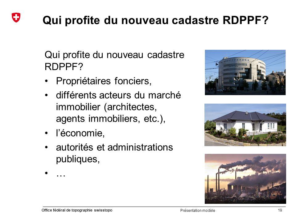 Qui profite du nouveau cadastre RDPPF
