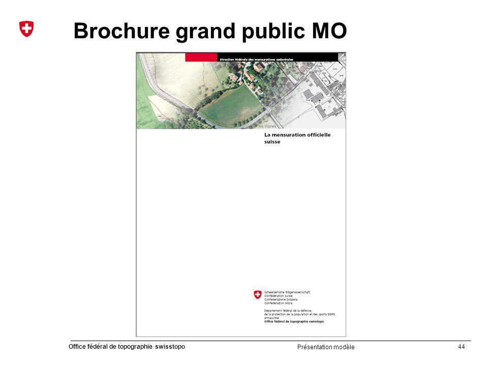 Brochure grand public MO