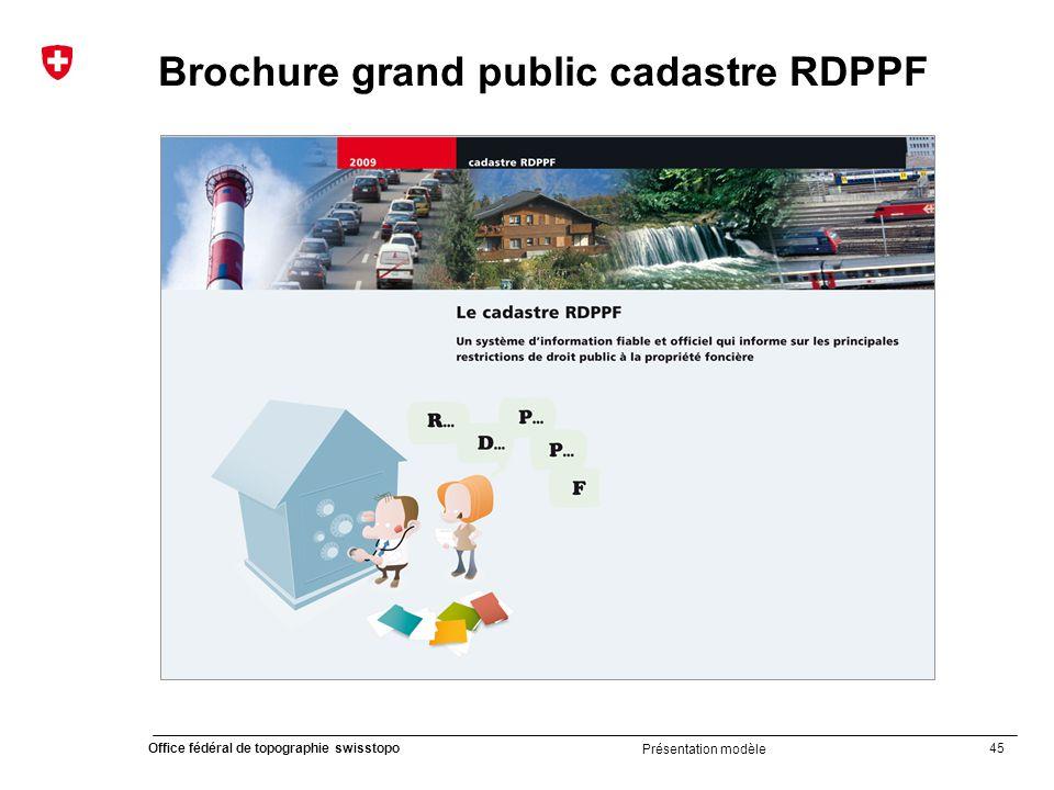 Brochure grand public cadastre RDPPF