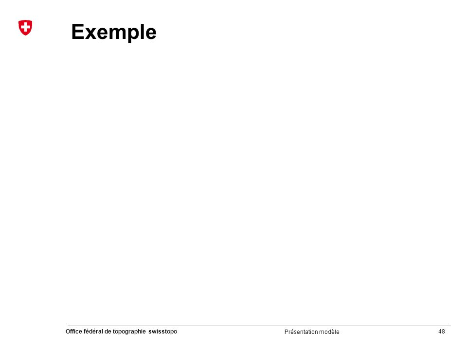 Exemple Présentation modèle