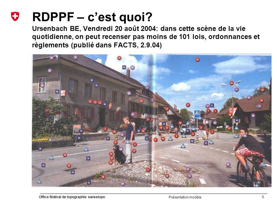 RDPPF – c'est quoi Ursenbach BE, Vendredi 20 août 2004: dans cette scène de la vie quotidienne, on peut recenser pas moins de 101 lois, ordonnances et règlements (publié dans FACTS, 2.9.04)