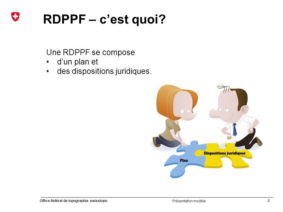 RDPPF – c'est quoi Une RDPPF se compose d'un plan et