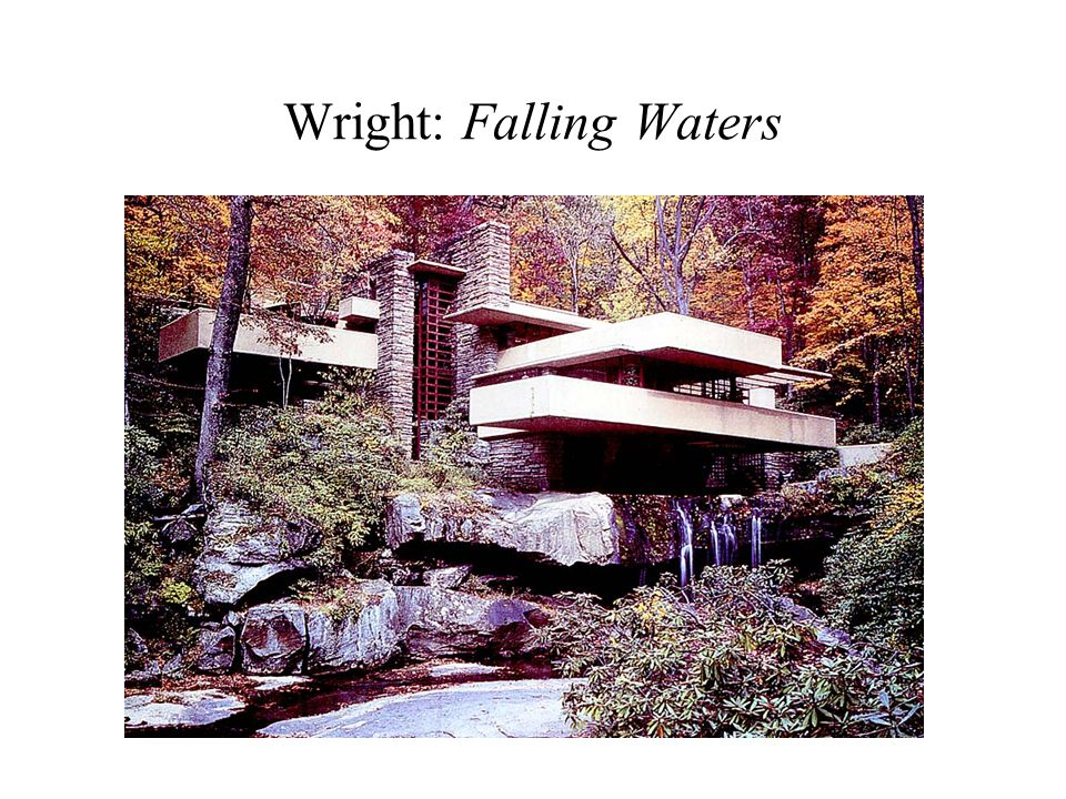 Wright: Falling Waters