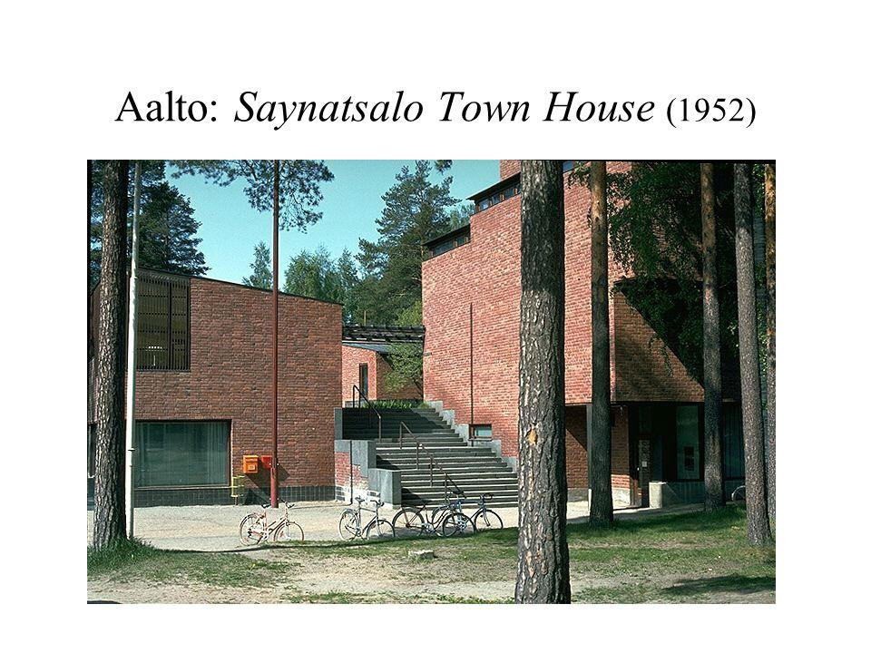 Aalto: Saynatsalo Town House (1952)