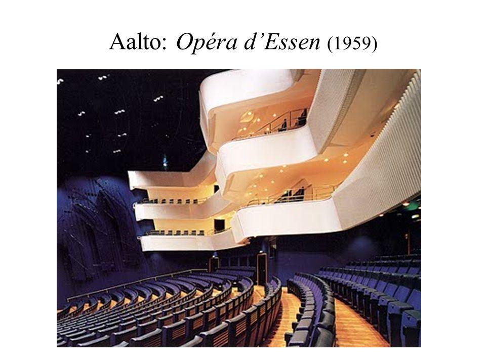 Aalto: Opéra d'Essen (1959)