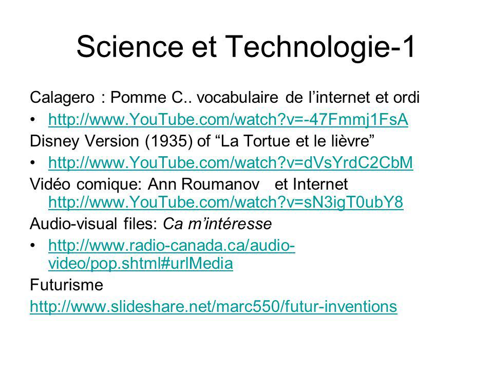 Science et Technologie-1