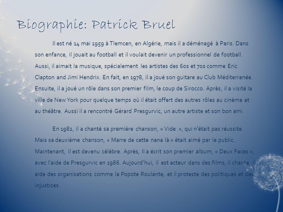 Biographie: Patrick Bruel