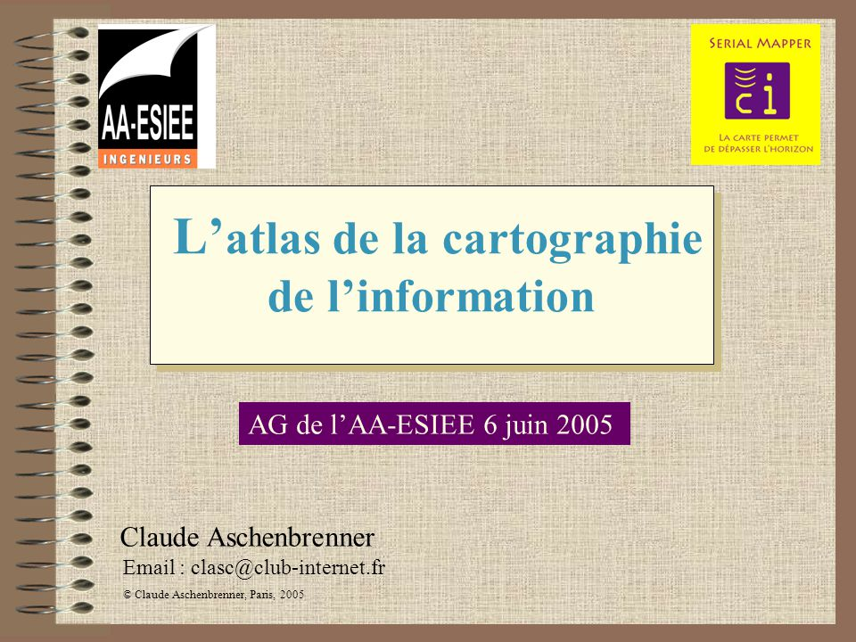L'atlas de la cartographie de l'information