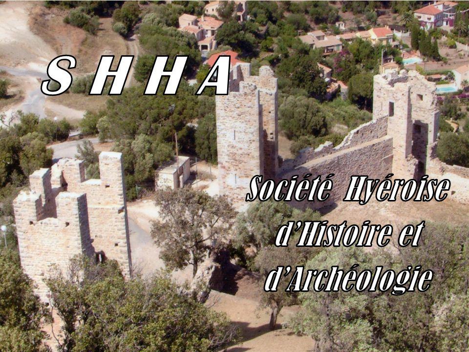 S H H A Société Hyéroise d'Histoire et d'Archéologie