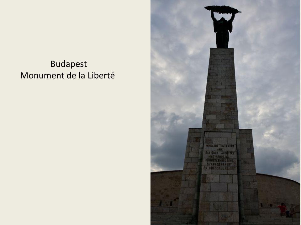 Budapest Monument de la Liberté
