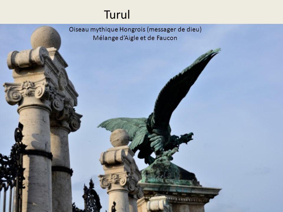 Turul Oiseau mythique Hongrois (messager de dieu)