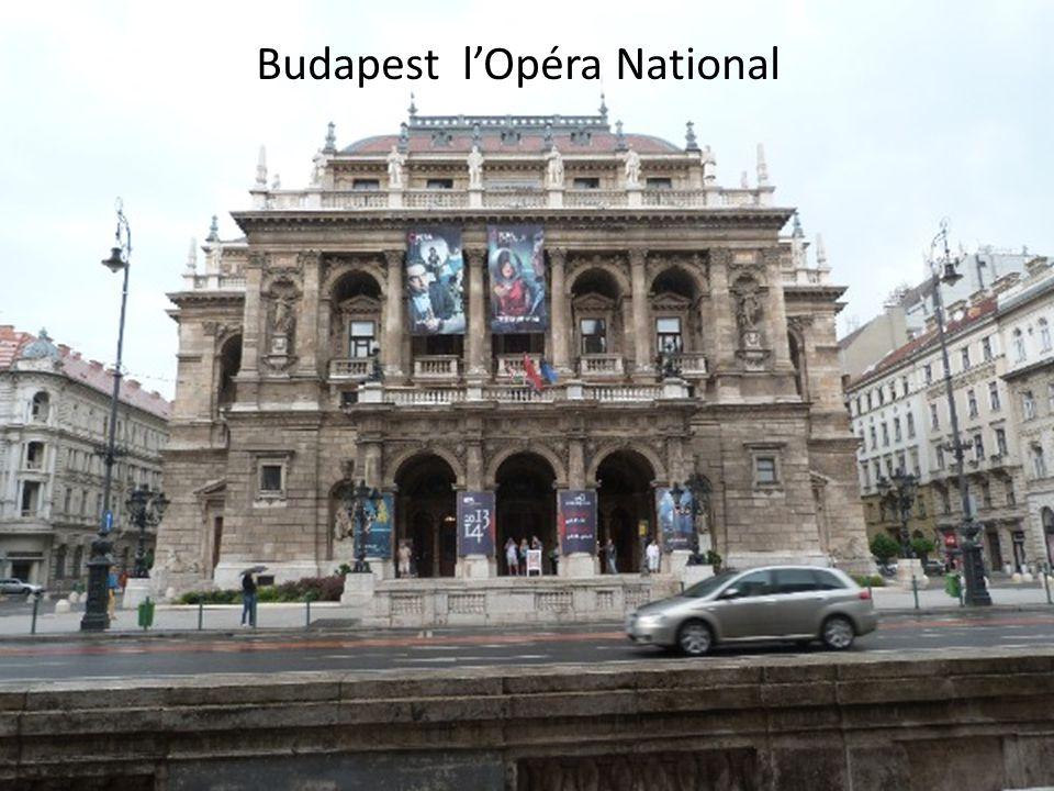 Budapest l'Opéra National