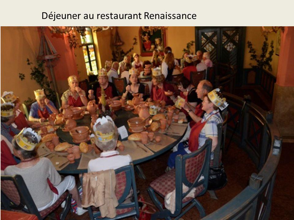 Déjeuner au restaurant Renaissance