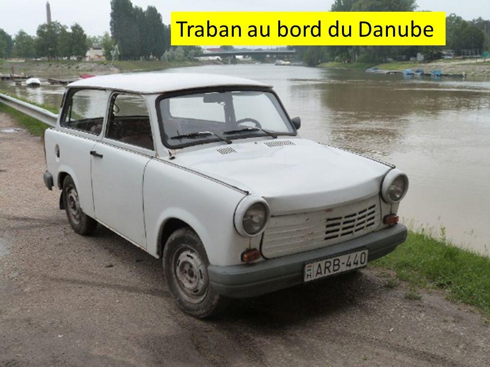 Traban au bord du Danube