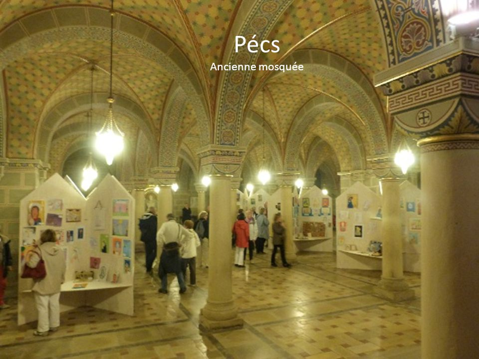 Pécs Ancienne mosquée