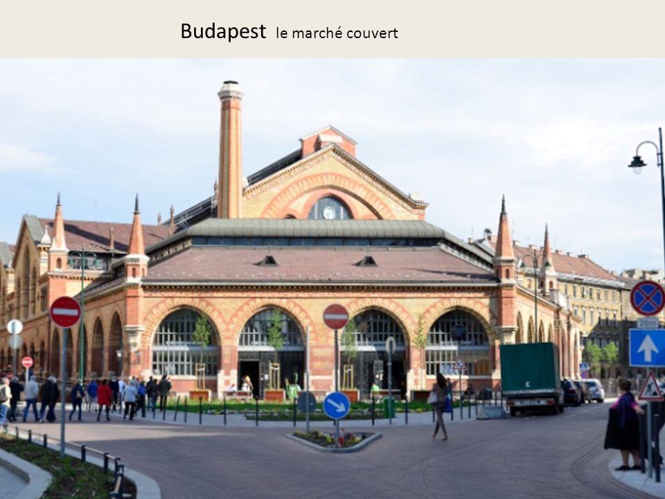 Budapest le marché couvert