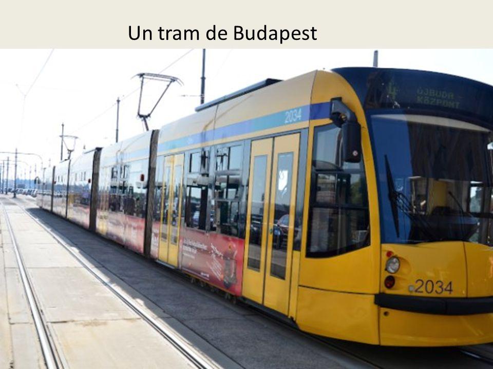 Un tram de Budapest