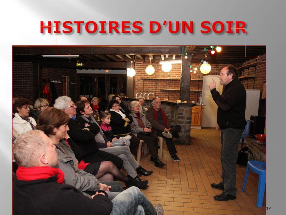 HISTOIRES D'UN SOIR Une première à Etaples !