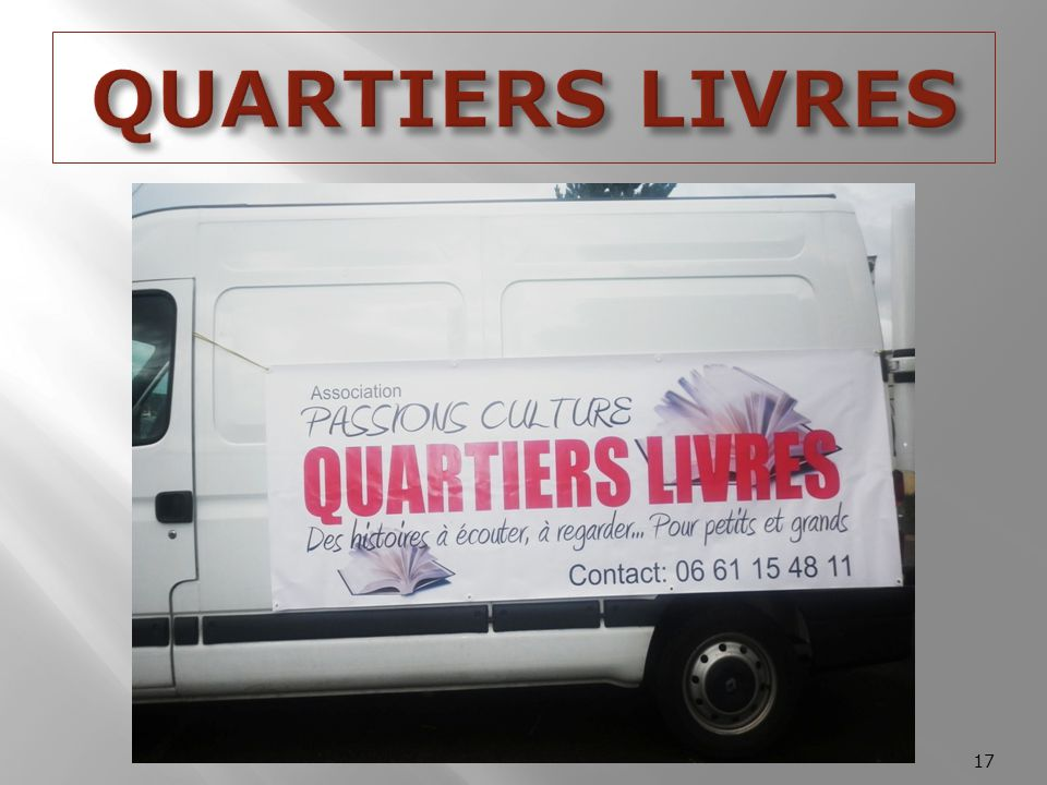 QUARTIERS LIVRES