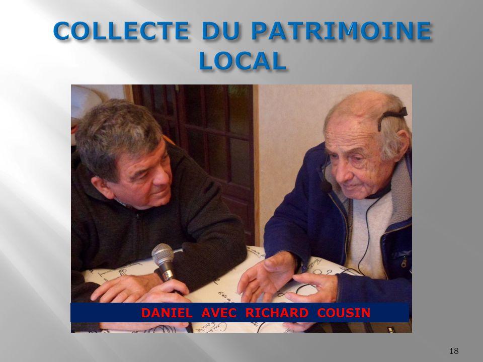 COLLECTE DU PATRIMOINE LOCAL